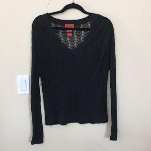 Light weight semi sheer Missoni sweater